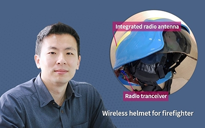 Developing a 'Wireless Helmet' for Firefighters