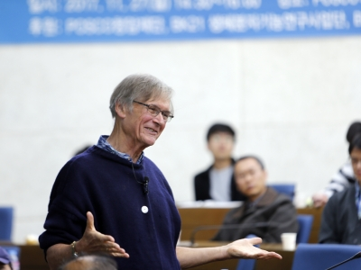2001년 노벨생리의학상 수상자 Sir Tim Hunt 교수초청강연